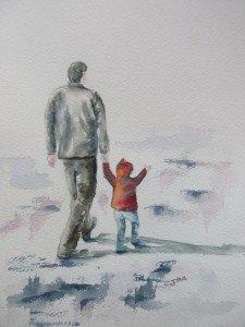 Elise et son papy (1)