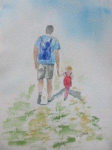 Sur le chemin de la riviere (1)